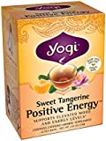 Yogi Sweet Tangerine Positive Energy, 1.02 Ounce (Pack of 6)