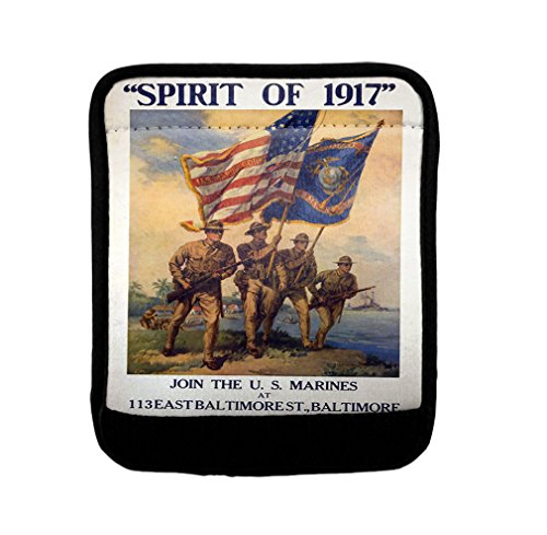 Spirit Of 1917 Vintage Poster Luggage Handle Wrap Finder by Style in Print