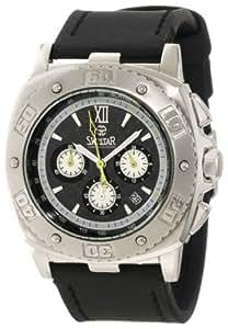 Swistar Men's 3404-5M Swiss Quartz Stainless Steel Dress Watch