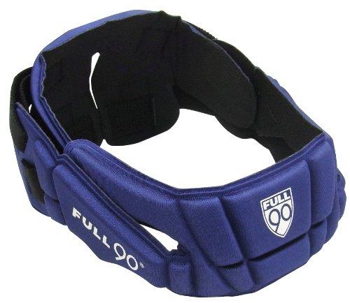 Full 90 Sports Premier Performance Soccer Headgear, Navy, Small/Medium ()