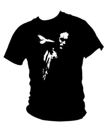 94f6159d The Crow - Eric Draven Cult film SCREEN PRINTED T-shirt Mens all sizes (