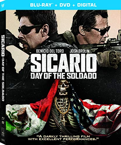 Sicario: Day of the Soldado - Blu-ray Release