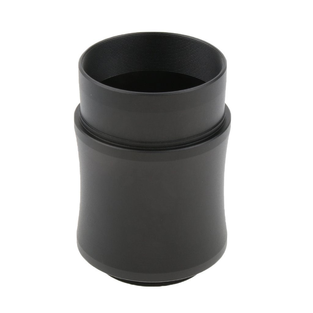 Homyl 2'' Universal Digital Cameras Adapter Extension Tube - Connect Telescope to Camera M42x0.75 - Black