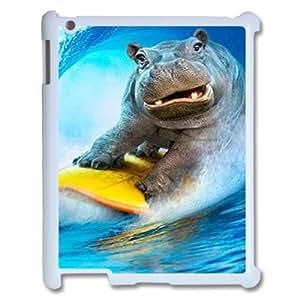 Clzpg Drop-Hippo Ipad2,3,4 Case - Hippo plastic case
