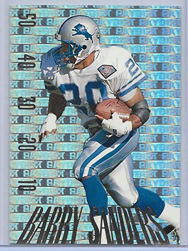 - 1995 Skybox Premium Football Barry Sanders Paydirt Insert Card # PD23