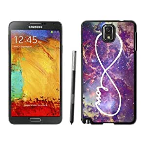 Slim Samsung Galary Note 3 Case Elegant Infinity Love Galaxy Soft Silicone Black Phone Cover Accessories hjbrhga1544