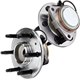 ECCPP 2 Front Wheel Hub Bearing Assembly For Suburban 1500 07-14 Tahoe 07-13 6 Lug-ABS