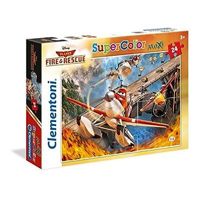 Clementoni 24460 Puzzle Maxi 24 Pezzi Planes 2