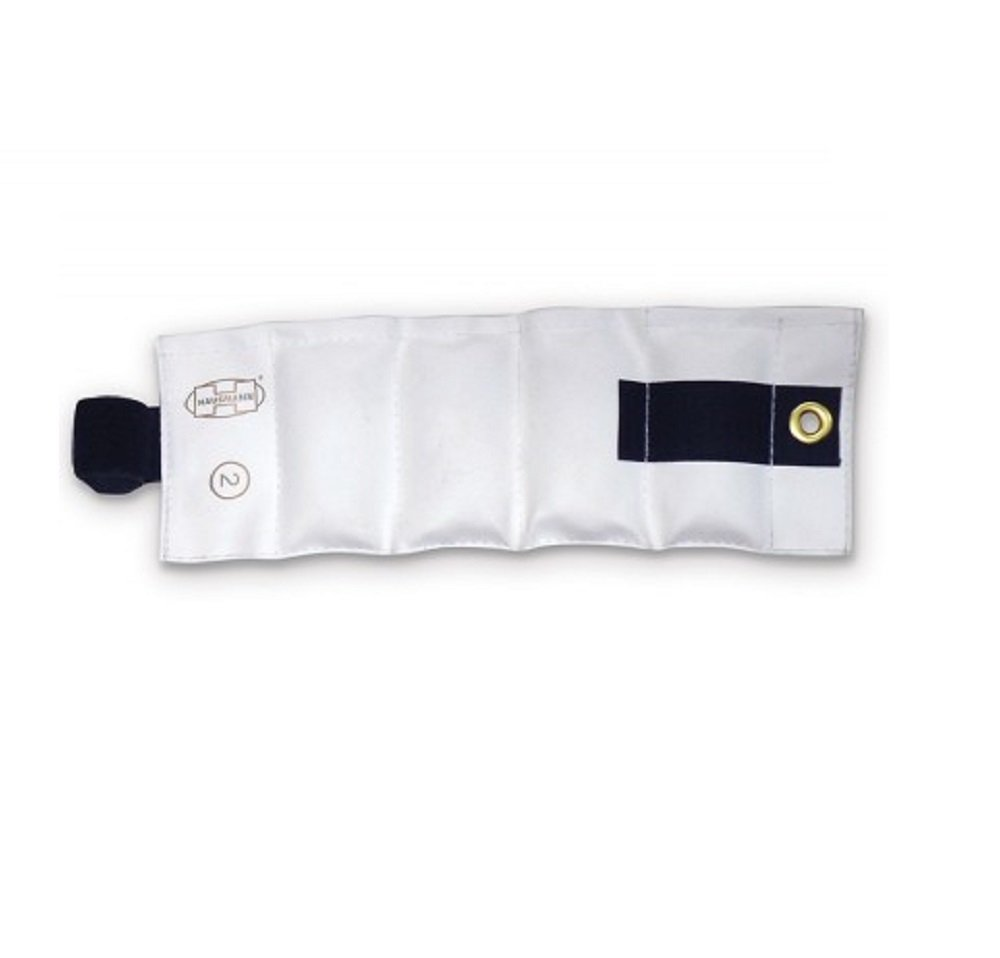 Sold Individually 2 lbs. White Hausmann Wrist//Ankle Weight