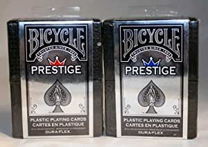 DuraFlex 100% Plastic Playing Cards by Bicycle - 2 Decks