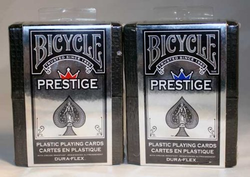 DuraFlex 100% Plastic Playing Cards by Bicycle - 2 - Plastic Coated Cards Playing