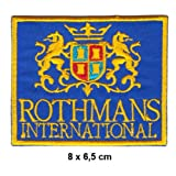 ROTHMANS INTERNATIONAL Motorsport Racing Team Williams Porsche Formula 1 F1 Racing Race jacket t shirt Polo Patch Sew Iron on Embroidered