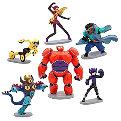 Disney Big Hero 6: The Series Figure Play Set: Home & Kitchen