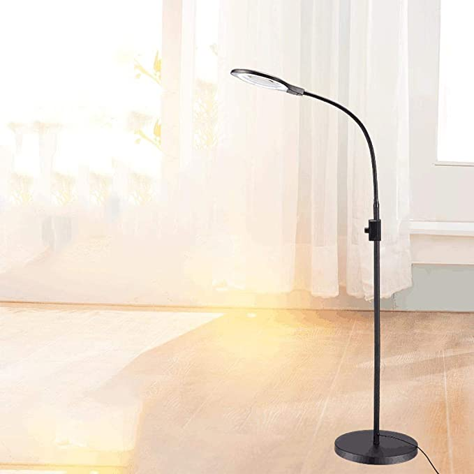 4X LED Lámpara amplificadora Blanco Estética Iluminación Belleza ...