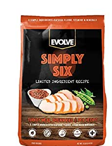 Amazon.com : Evolve Simply Six Limited Ingredient Dog Food