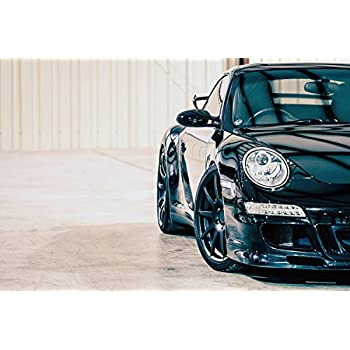 Porsche 911 Old Car Poster 20x30