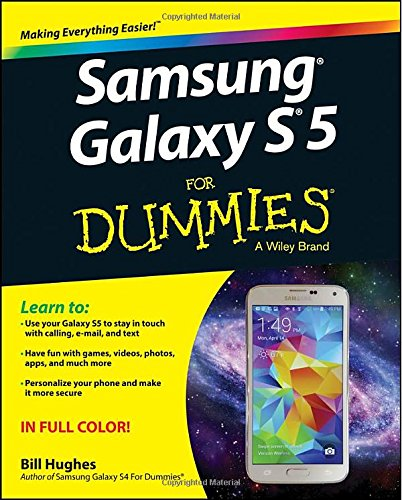 Samsung Galaxy S5 For Dummies