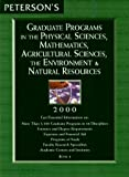 Physical Sciences, Mathematics, Agricultural Sciences, the Environment and Natural Resources, Peterson's Guides, 0768902703