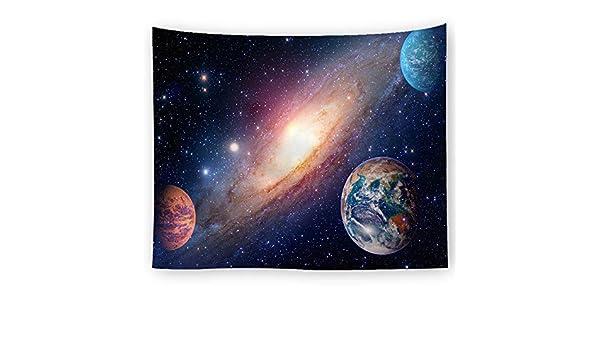 xkjymx Decoración del hogar del Tapiz de Galaxia del Sistema ...