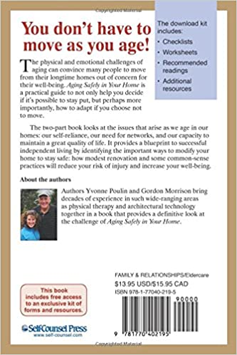 Aging Safely In Your Home (Eldercare Series): Yvonne Poulin ...