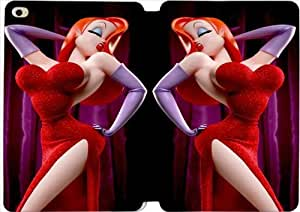 Disney Who Framed Roger Rabbit Character Jessica Rabbit-11 iPad Mini 4 Case Leather Smart Cover With Flip Stand Protective Cover New Colorful