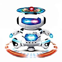 Sunshine Dancing Robot with 3D Lights and Music Multi Color