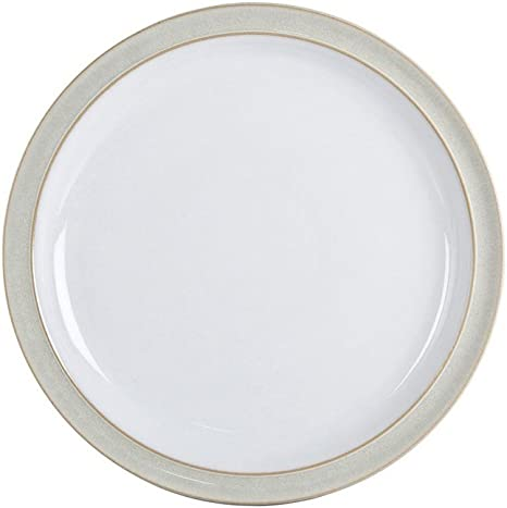 """Service Plate 13/"""" China by Denby White Large Round Serving Platter"""