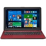 ASUS R541NA-RB21T-RD Vivo Book Touch HD Laptop, Intel Pentium N4200 Quad Core Processor, 4GB DDR3 RAM, 500GB HDD, Windows 10, 15.6, Red