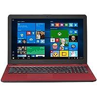 ASUS X541UA-WB51T-RD Vivo Book X541UA Touch HD Laptop, Intel Core i5 2.5GHz Processor, 8GB DDR4 RAM, 1TB HDD, Windows 10, 15″, Red