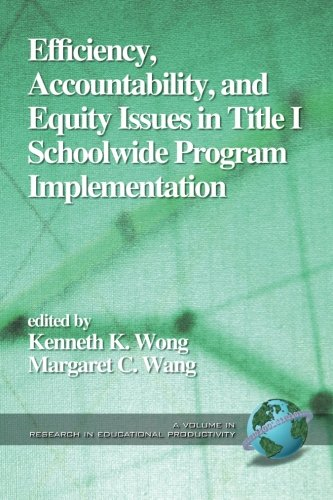 Efficiency, Accountability, and Equity: Issues in Title 1 School Wide Program Implementation (Research in Educational Productivity)