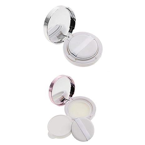 4e4604a863b6 Buy Homyl 2pcs/set Beauty Empty Portable Make-up Powder Cream ...