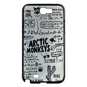 Unique Phone Case Design 17Famous Band Arctic Monkeys Pattern- For Samsung Galaxy Note 2 Case