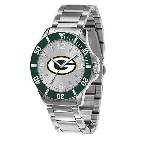 Q Gold Gifts Watches NFL Green Bay Packers Key Watch by Rico Industries