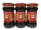 Old Hi›_ flavor Mameko ''Set of 3'' (beans? Touchi oil system ç…ž£) chili oil China famous popular products 280g x 3 this [Parallel import]