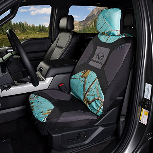 Realtree Camo Seat Covers SPG Low Back 2 Pack Signature Products Group K000024890199 AP Cool Mint