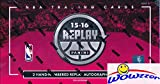 2015/16 Panini Replay Basketball Factory Sealed HOBBY Box With TWO(2) ON-CARD AUTOGRAPHS! Look for Autographs of Stephen Curry, Kobe Bryant, Magic Johnson, Kyrie Irving & Many More! Wowzzer!