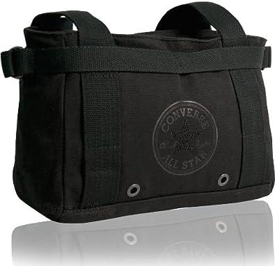 Converse Handtasche WINTER BAG Schultertasche Shopper Schwarz