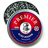 Crosman LDP22 Premier Domed 0.22 Caliber Airgun Pellets (500 per tin)