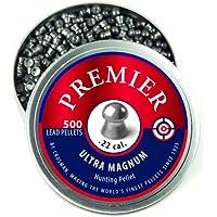 Crosman LDP22 Premier Domed 0.22 Caliber Airgun Pellets (500 per tin)