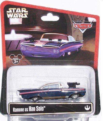 Disney Star Wars Pixar Cars Ramone As Han Solo 1/55 Die