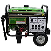 Lifan ES4100E Energy Storm Gas Powered Portable Generator with Electric and Recoil Start, 4100W