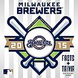 Turner Perfect Timing 2015 Milwaukee Brewers Box Calendar (8051302)