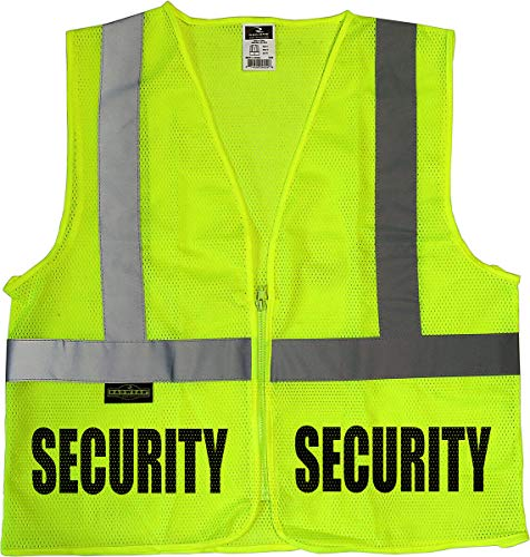 - Conspiracy Tee Security Guard mesh Vest, Event Security Vest, mall, School, Safety, Bouncer