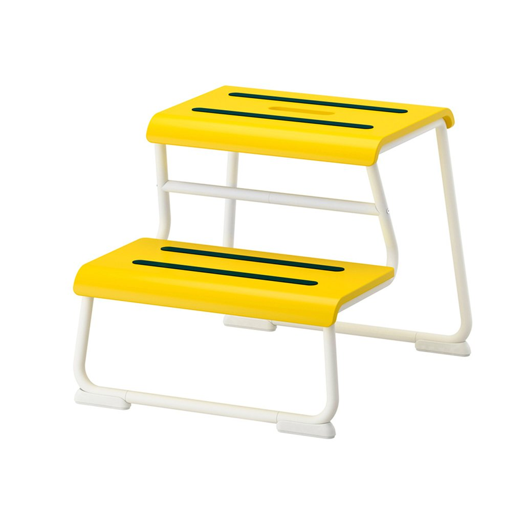 DNSJB Step Stool, Aluminum Alloy Household Folding Thick Step Stool Ladder Ladder