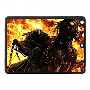 Classic US Comics Superheros Series&GHOST RIDER Theme Case Cover for IPad Air - Hard PC Back&4 sides TPU Protective Case Shell-Perfect as gift