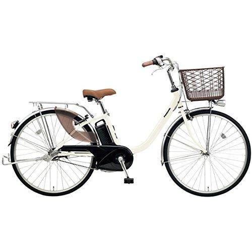 Panasonic(パナソニック) 2018年モデル ビビLU 26インチ BE-ELLU632 電動アシスト自転車 専用充電器付 B077V74R5NF:オフホワイト