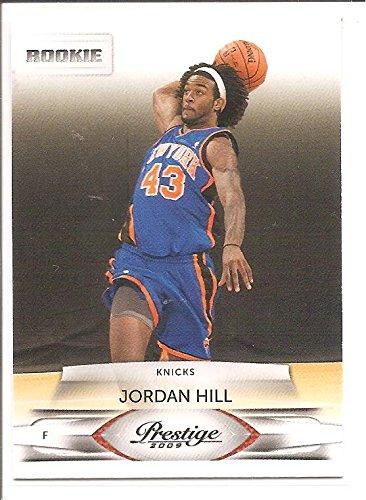 d497f1b9b7e8c0 Jordan Hill New York Knicks 2009-10 Panini Prestige Rookie Basketball Card   208