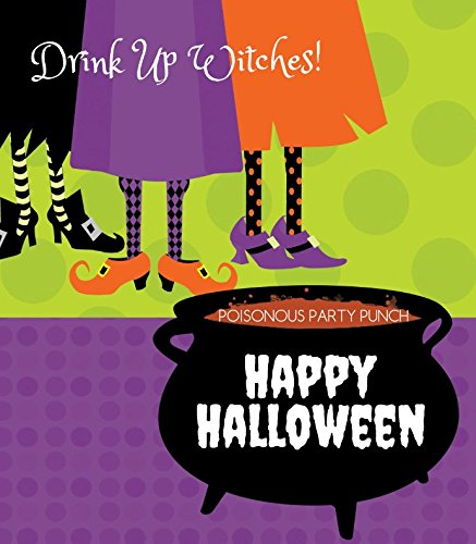 Halloween Wine Bottle Labels - Witches Brew - Set of 6 ()