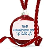 Christmas Decoration Dog & Cat Dad Thai Bangkaew Dog Ornament