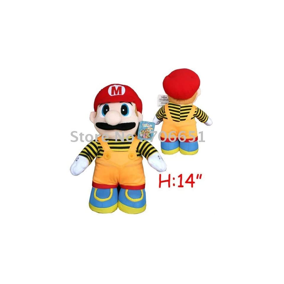 whole + 38cm super mario plush doll toy kids plush toy child plush toy mix order & drop shipping
